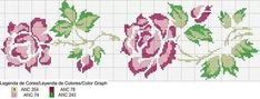 This Pin was discovered by kad Just Cross Stitch, Cross Stitch Borders, Cross Stitch Flowers, Cross Stitch Charts, Cross Stitching, Cross Stitch Embroidery, Cross Stitch Patterns, Cross Stitch Pictures, Crochet Designs
