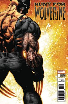 Hunt for Wolverine #1 (2018) Variant Cover by Mike Deodato