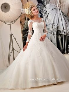 961f9cefaf8 38 Best Royal Princess Long Sleeve Wedding Dresses images
