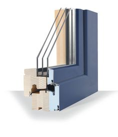 Internorm hybrid Aluminium Timber triple glazed windows