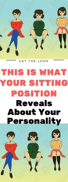 This Is What Your Sitting Position Reveals About Your Personality..! Read this!!