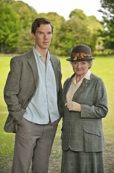 -Murder is Easy- Miss Marple (Julia Mckenziewith) {Benedict Cumberbatch as Luke Fitzwilliam}  ~Agatha Christie~   It's quite good....I must say!