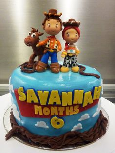 Cake Design For Monthsary : 1000+ images about Toy Story cake on Pinterest Toy story ...