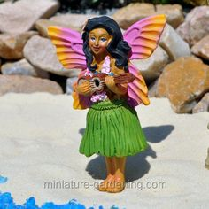 Hawaiianische Miniatur Tiki Bar Luau Party Miniature