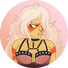 Steven Universe,Jasper,Pastel Goth|| tumblr: Chika-Chu