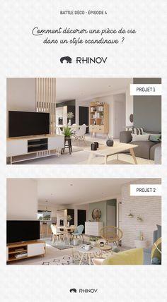 Battle Deco 4 – How to decorate a living room Scandinavian style? - New Deko Sites Decor, House Styles, Bedroom Design, House Design, Living Room Scandinavian, Scandinavian Style, Trending Decor, Living Room Decor, Home Deco