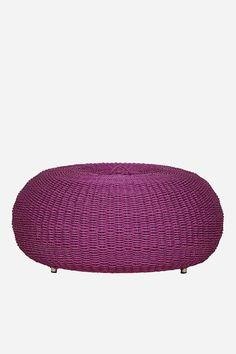Urchin Ottoman - Large, Magenta