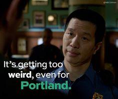 Weird for Portland
