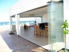 design home interior Design Exterior, Interior And Exterior, Modern Interior Design, Interior Design Living Room, Pergola Patio, Patio Doors, Sliding Glass Door, Terrazzo, Architecture Details