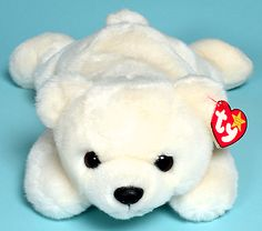 f51b227c29e Chilly - polar bear - Ty Beanie Buddies Beanie Buddies