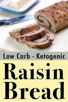 Keto Banana Bread, Best Keto Bread, Low Carb Bread, Lemon Bread, Blueberry Bread, Egg And Bread Recipes, Almond Recipes, Healthy Low Carb Recipes, Low Carb Dinner Recipes