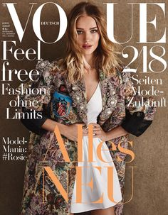 Vogue Germany August 2016 Rosie Huntington-Whiteley by Giampaolo Sgura-1-3