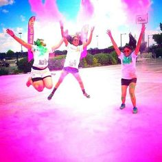 Fit and fun- The Color Run! Has anyone ever done one of these? They look like SO MUCH FUN!