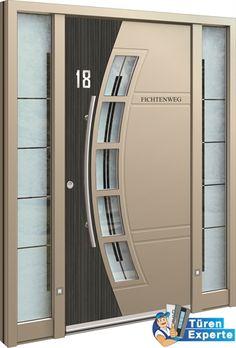 Moderne Haustüre AGE 1560 von Inotherm beim Fachhändler auf http://www.tueren-experte.de gestalten!
