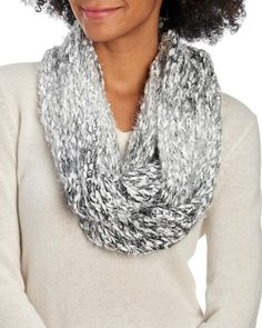 Ombre Chunky Knit Infinity Scarf-Scarves & Wraps-Accessories-Jewelry & Accessories   Stein Mart