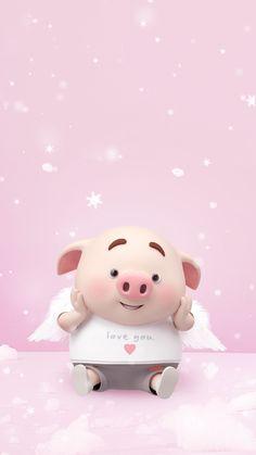 little p pig Pig Wallpaper, Funny Phone Wallpaper, Disney Wallpaper, This Little Piggy, Little Pigs, Pig Images, Cute Piglets, Pig Illustration, Funny Pigs