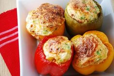 Weight Watchers Brunch Stuffed Peppers Recipe – 6 Points + - LaaLoosh