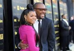 Empire TV Series (Fox Network-2015) Creator/Director Lee Daniels pictured with Tariji P. Henson, who plays the role of Cookie Lyon in the series.