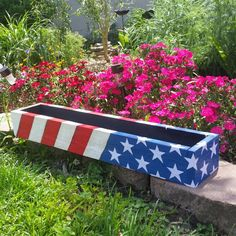 SALE!!4th of July centerpiece box
