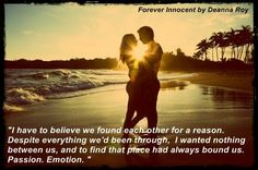 A Gorgeous fan-made graphic for the book by   Twitter / MissLexieA: My graphic for Forever Innocent ...