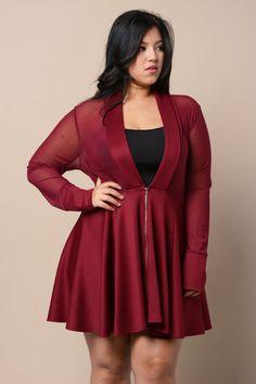 Sheer Flared Dress, gstagelove.com (loved by #thatsprettyfunny)