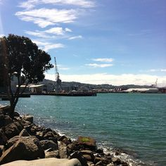 Wellington waterfront, New Zealand