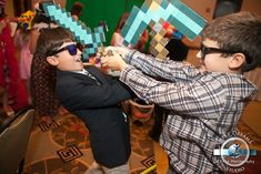 Minecraft Video Game Bar Mitzvah Theme by Sweet Dreams Photo Video - mazelmoments.com