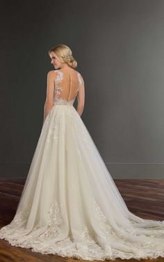 Bronte + Sabene Princess Lace Wedding Dress Separates by Martina Liana
