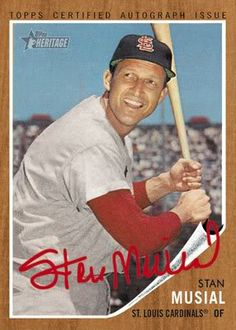 1962 Topps Stan Musial