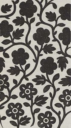 numinon: Printed textile design, produced by Hargreaves in 1849. http://ift.tt/1oYb4h3