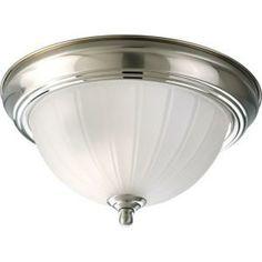#ifwemove  Progress Lighting Cobblestone 1-light Flushmount-P3816-33 at The Home Depot