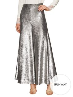 Sequin Gathered Leg Culottes from Street Style: Designer Edition on Gilt