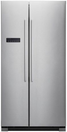 Fisher & Paykel 628 Litre Side by Side Fridge Freezer Stainless Steel Appliances, Kitchen Appliances, Fisher And Paykel Fridge, Tall Cabinet Storage, Locker Storage, American Style Fridge Freezer, Door Alarms, Side By Side Refrigerator, Double Doors