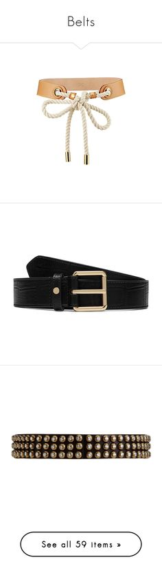 """""""Belts"""" by yihansong ❤ liked on Polyvore featuring accessories, belts, jewelry, necklaces, louis vuitton, louis vuitton belt, black, leather belt, leather buckle belt and buckle belt"""