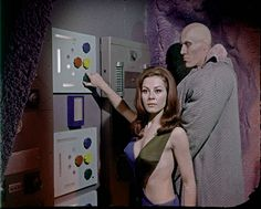 Sherry Jackson as the android Andrea in the famous Bill Theiss costume