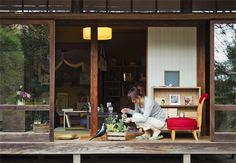would die for a japanese house with veranda