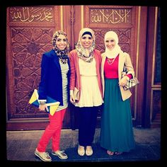 Hijab's are such a beautiful style, whether religious or not