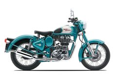 Royal Enfield Classic 500 Motorcycle. i could be cute on this.
