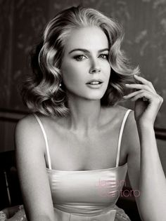NICOLE KIDMAN AS GRACE KELLY FOR 'VANITY FAIR' | JASON SANTORO