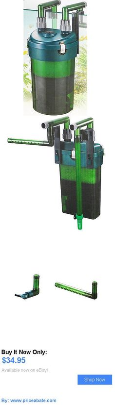 Animals Fish And Aquariums: Cfs 130 Aquarium Canister Filter External Ho Freshwater Plant 450L 30 40 Odyssea BUY IT NOW ONLY: $34.95 #priceabateAnimalsFishAndAquariums OR #priceabate