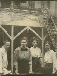 Johanna Westerdijk ( 1883-1961) op een foto uit de collectie van Smithsonian Institution Archives; SIA-SIA2010-1037