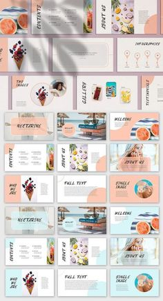 Nectarine PowerPoint Presentation Keynote Presentation, Presentation Slides Design, Best Presentation Templates, Presentation Layout, Slide Design, Template Brochure, Powerpoint Design Templates, Design Brochure, Flyer Template