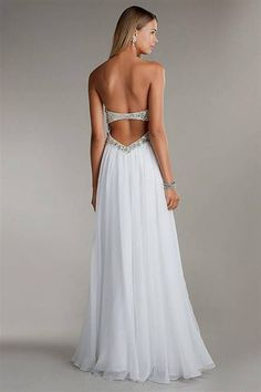 Awesome Backless Prom Dresses 2018