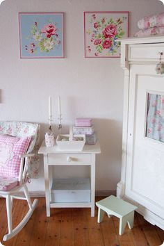 Lulufant: My home anno 2013 Cottage Style Decor, Cottage Chic, Shabby Chic Homes, Shabby Chic Style, Love Your Home, Romantic Homes, Cottage Interiors, Girls Bedroom, Painted Furniture