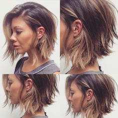 20 Short Hairstyles for Wavy Hair, Hair makeup Unless you have been living under. - 20 Short Hairstyles for Wavy Hair, Hair makeup Unless you have been living under a rock I am sure y - # Medium Hair Styles, Long Hair Styles, Growing Out Short Hair Styles, Hair Growing, Growing Out A Bob, Thin Fine Hair Styles, Short Hair Cuts For Teens, Bobs For Fine Hair, Fine Hair Styles For Women