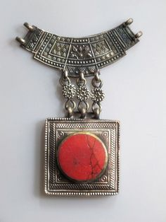 Vintage Afghan Jewelry Components $28.50