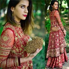 Ideas for indian bridal lengha brides embroidery Indian Bridal Lehenga, Indian Bridal Fashion, Indian Bridal Wear, Pakistani Bridal, Pakistani Dresses, Indian Wear, Bridal Dresses, Girls Dresses, Party Dresses
