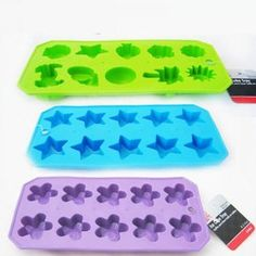 Smoothie Ice Cube Molds.
