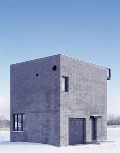 Simon Ungers: Cube House — Thisispaper — What we save, saves us.