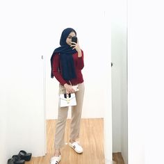 sunday outfit 👧🏽 Casual Hijab Outfit, Ootd Hijab, Girl Hijab, Hijab Fashion, Fashion Outfits, Womens Fashion, Sunday Outfits, Muslim, Cute Outfits